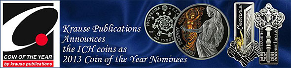 Krause Publications Announces 2013 Coin of the Year Nominees